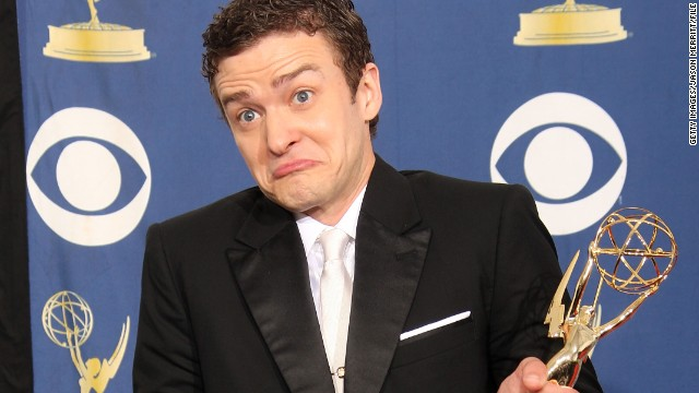 Justin Timberlake may have won an Emmy for
