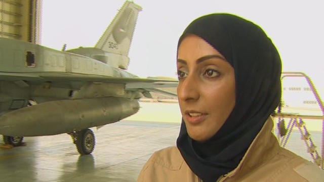 Primera piloto de combate de Emiratos Árabes Unidos condujo ataque aéreo contra ISIS