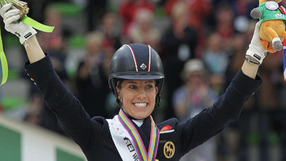 Dujardin crowns memorable 2014