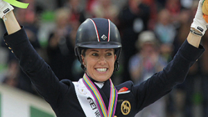 Dujardin posts dressage world record