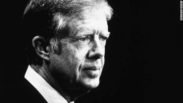 Former U.S. President Jimmy Carter turns 90 on Wednesday, October 1. From 1977 to 1981, Carter served as the 39th President of the United States. Click through the gallery to look back at moments from his life and career.