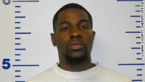 Alton Alexander Nolen is seen here in a mugshot from a 2010 arrest in Logan County, Oklahoma.
