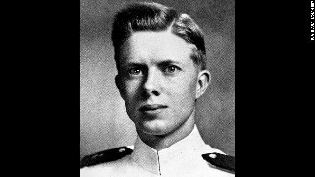 Carter graduated from the U.S. Naval Academy on June 5, 1946, after completing the accelerated wartime program.