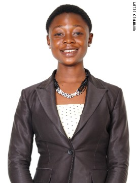 Winifred Selby from Ghana co-created the Ghana Bamboo Bikes Initiative when she was just 15. The project uses local bamboo to help provide a convenient transportation option and employment to Ghanaians in rural areas.