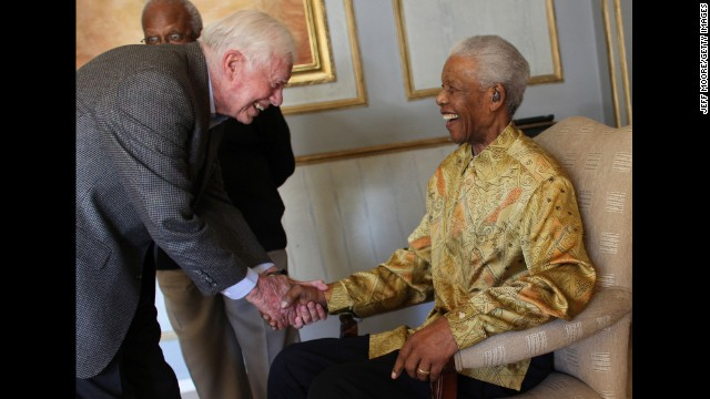 jimmy carter and opinion nelson mandela All the terrible things republicans used to say about nelson mandela jimmy carter reversed course and opinion on politics and culture don't miss our latest.