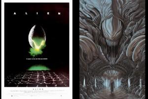 Artistas rehacen afiches de películas