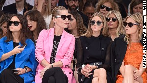 What's hot on the runway and front row?