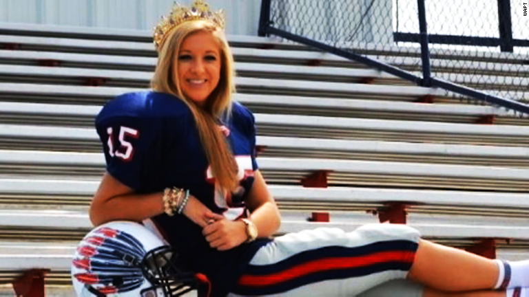 star kicker crowned home ing queen   cnn   video