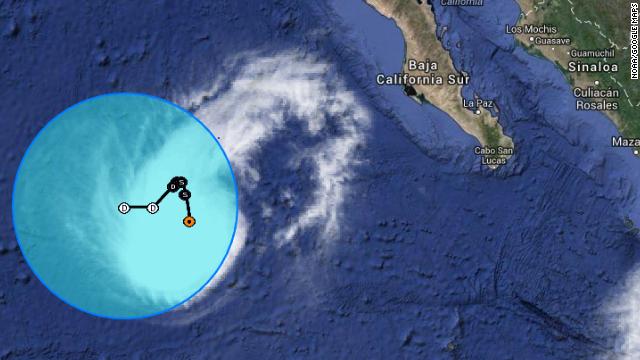 Siguen las lluvias del huracán Rachel en Baja California Sur