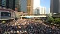 Masivas protestas en Hong Kong
