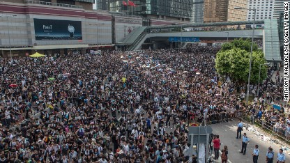 In the thick of the Hong Kong protests