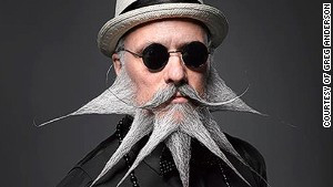 The world's most powerful facial hair