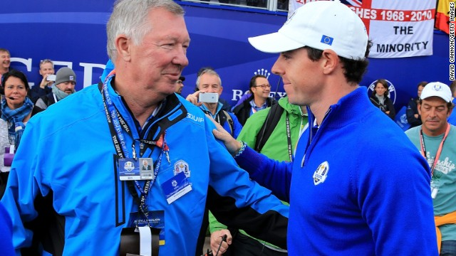 Ferguson attended last week's Ryder Cup at Gleneagles where he gave a speech to the European team ahead of the competition.