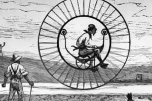 Los monociclos en la historia