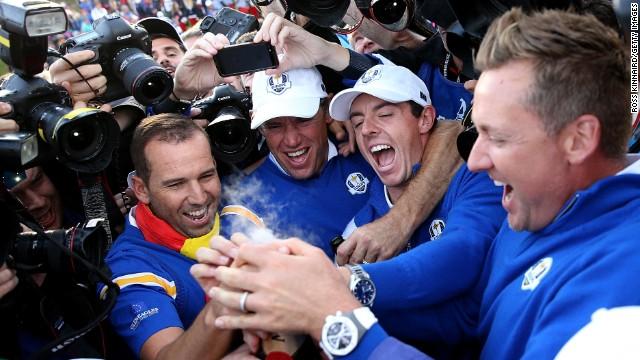 Ryder Cup: Mcllroy, el talismán del equipo europeo