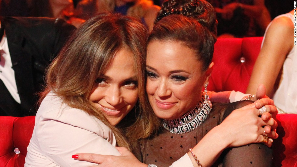 Sure, Jennifer Lopez and Leah Remini are both New Yorkers who are self-proclaimed tough girls, but we still wouldn't have necessarily pegged them as BFFs. And yet the pair are pretty tight and often show up together on <a href='http://instagram.com/leahremini' target='_blank'>each others</a>' Instagram <a href='http://instagram.com/jlo' target='_blank'>accounts.</a>