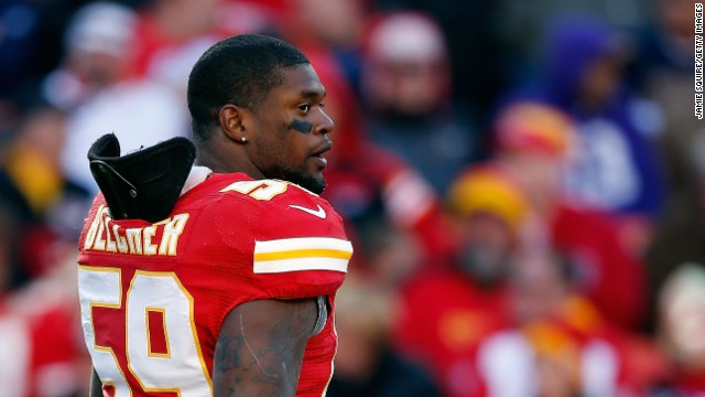 Kansas City Chiefs linebacker Jovan Belcher shot and killed his girlfriend before killing himself two years ago. Pathology reports show he likely had chronic traumatic encephalopathy, or CTE, doctors say. Scientists believe repeated head trauma can cause CTE, a progressive degenerative disease of the brain. Symptoms include depression, aggression, and disorientation, but so far scientists can only definitively diagnose it after death. Here are a few of the former athletes who have been diagnosed with CTE.