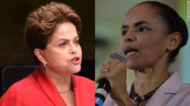 Un duelo entre mujeres por la presidencia de Brasil