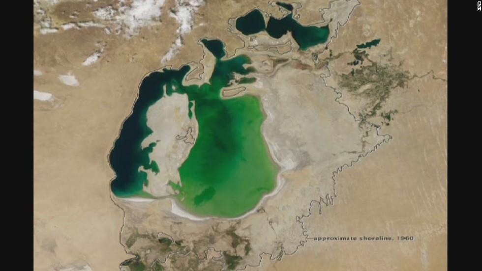 FOTOS: El mar de Aral está a punto de desaparecer