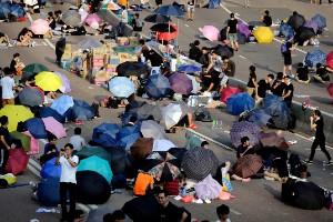 Los símbolos de las protestas en Hong Kong