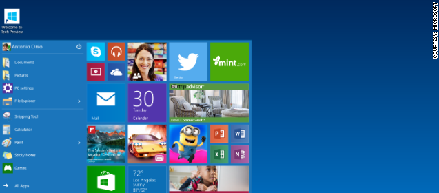 Microsoft introduces Windows 10