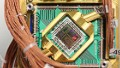 D-Wave System with Visible 512 Qubit Chip