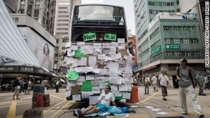 'Protest tourism': HK unrest hits travel