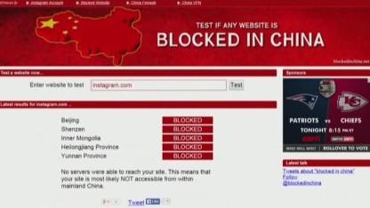 Chinese media censors Hong Kong protest