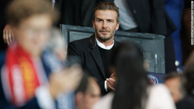 Beckham spent five months with PSG before retiring from football at the age of 38. The former Manchester United star also played for Real Madrid, LA Galaxy and AC Milan.