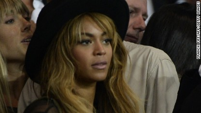 Football: Beyonce crazy in love for PSG?