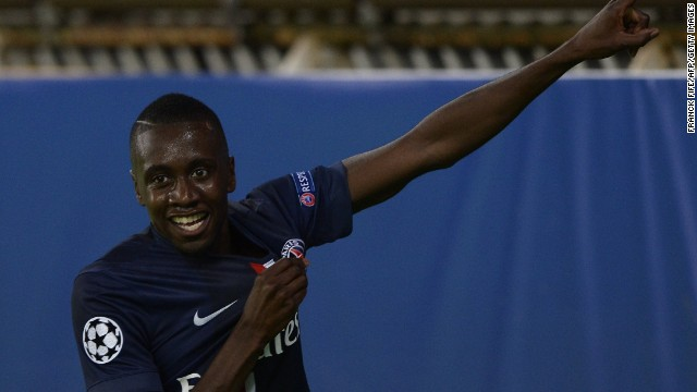 Blaise Matuidi scored the winning goal for PSG as it overcame Barcelona 3-2.