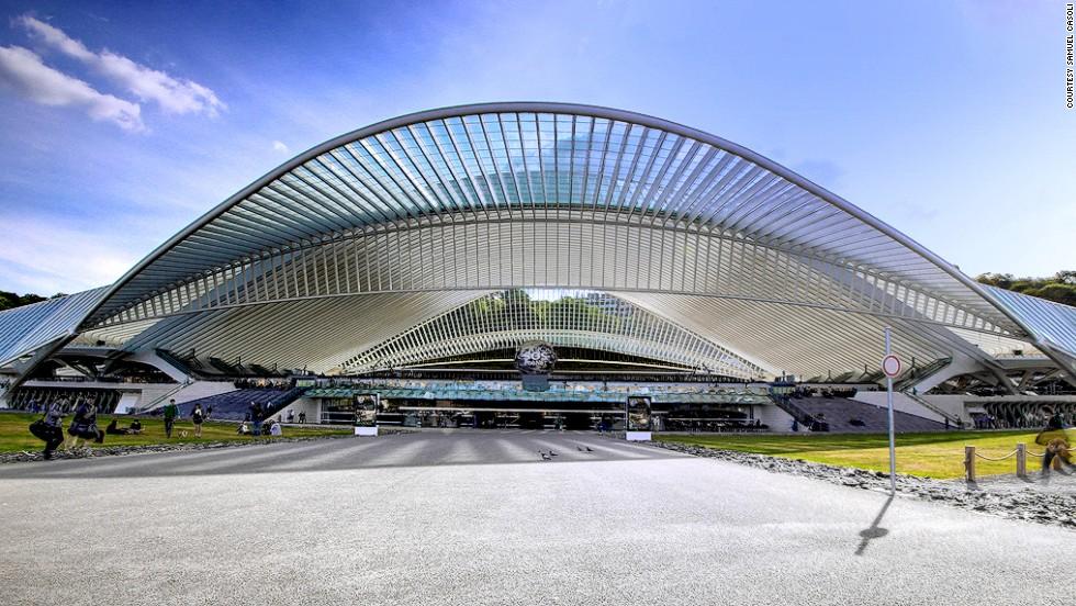 Gare de Liege-Guillemins (Lieja, Bélgica)