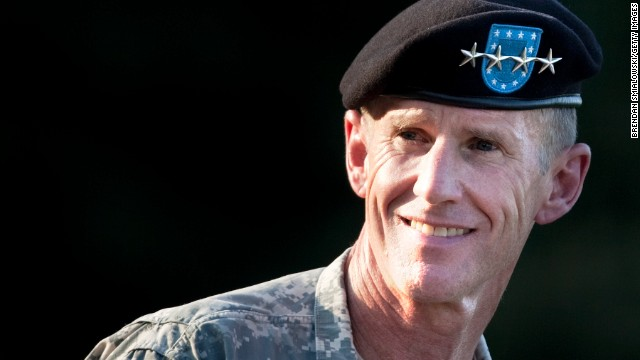 President Obama relieved Gen. Stanley McChrystal from his post in June 2010 as commander of U.S. forces in Afghanistan after disparaging comments he made against the administration in Rolling Stone.