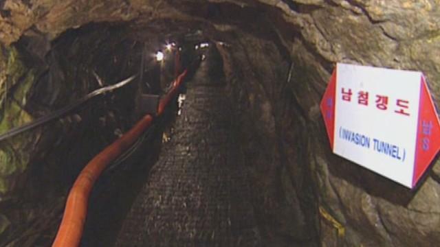 Buscan presuntos túneles de Corea del Norte