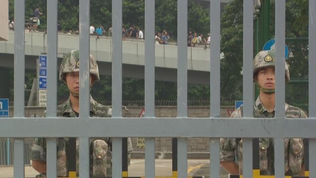¿Qué puede hacer el Ejército Popular de Liberación de China en Hong Kong?