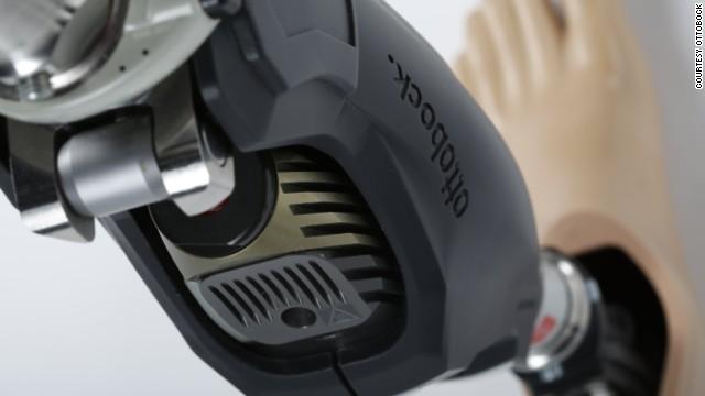The Genium X3 micro-processor up close.