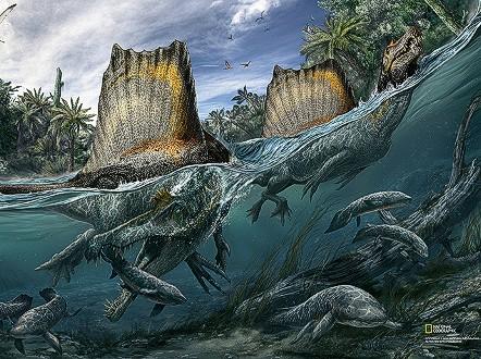 Megalodon Shark Chasing Whale