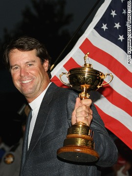 The clamor is growing for Paul Azinger to be Ryder Cup captain for the United States in 2016 after it suffered a third straight defeat to Europe. The 54-year-old was the last man to lead America to success in the biennial team competition, in 2008. It remains their only success this century.