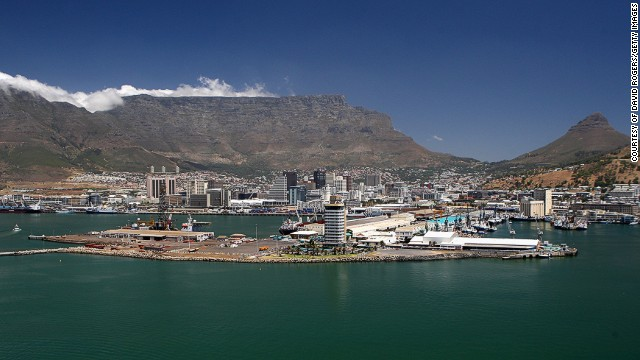 The Cape Town Port in South Africa had a capacity of 933,000 TEU in 2013, making it the sixth busiest on the continent.
