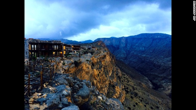 "OMAN: ""Room with a view: the newly-built Alila Jabal Akhdar on the 'Green Mountain' in Oman."" - CNN's Jon Jensen, October 5. Follow Jon (@jonjensencnn) & the CNNIME team along on Instagram at instagram.com/cnnime for more!"