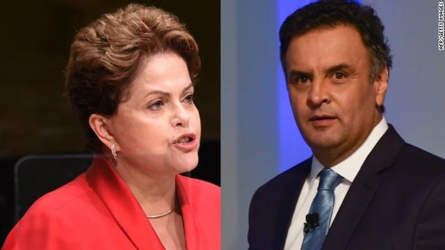 Rousseff y Neves, el pulso por la presidencia de Brasil que definirán los votantes