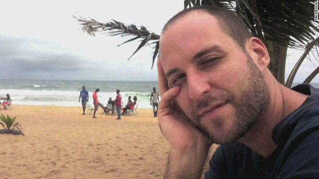 American Ashoka Mukpo is a freelance cameraman who was working for NBC News in Liberia when he became ill with Ebola symptoms. He was flown to the Nebraska Medical Center on October 6, and he was declared Ebola-free on October 21.