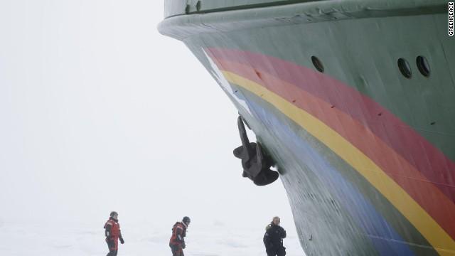 "Esperanza -- Spanish for ""hope"" -- is Greenpeace's largest activist ship."
