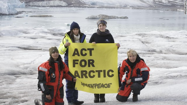 The size of the Arctic sea ice has decreased between 3.5% to 4.1% per decade between 1979 and 2012, according to World Wildlife Fund statistics.