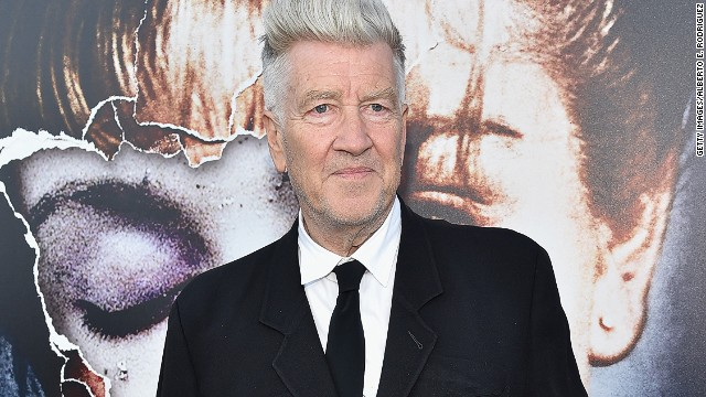 David Lynch appears at a party for the premiere of