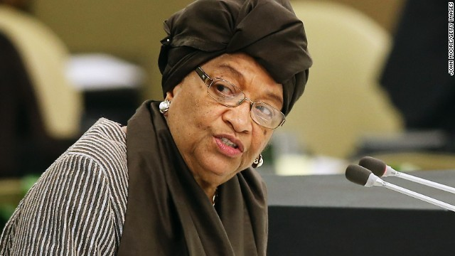 Liberian President <a href='http://www.cnn.com/2014/09/01/world/africa/liberia-ebola-outbreak/'>Ellen Johnson Sirleaf</a> has been very outspoken about the international community's response to the Ebola outbreak in West Africa. Liberia has had the most cases and deaths of all the countries affected by the outbreak.