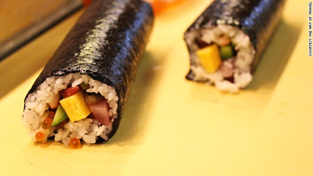 """""""I'm a firm believer that everyone can make good maki-rolls at home,"""" says Teranishi. """"They are an important part of sushi and are fun to make with endless combinations."""""""