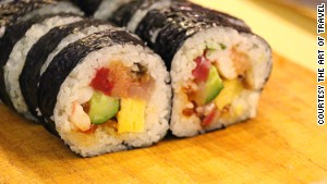 Learn to make sushi from a master