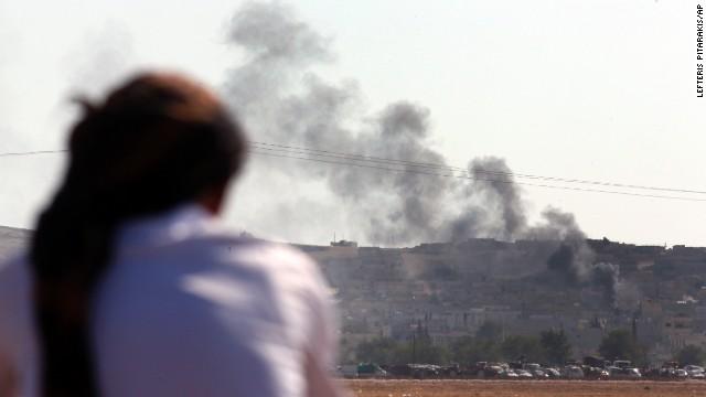 Mientras la coalición ataca a ISIS en Kobani, el grupo terrorista presiona al ejército iraquí