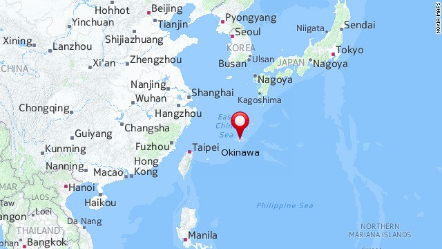 Map: Okinawa, Japan